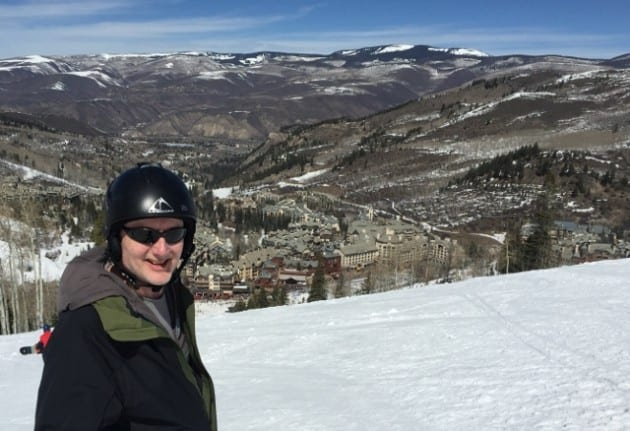 Chris at Beaver Creek