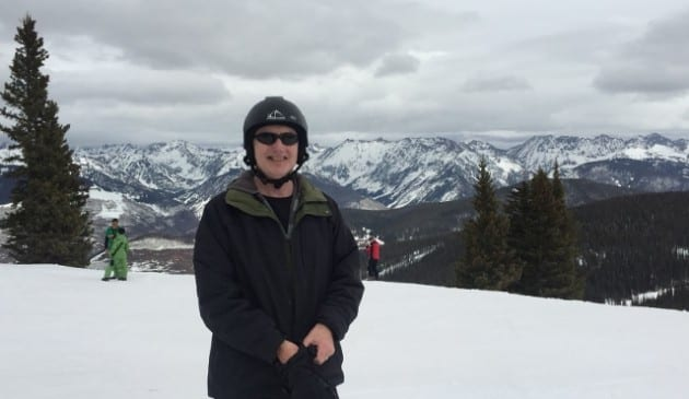 Chris at Vail