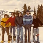 College ski buddies