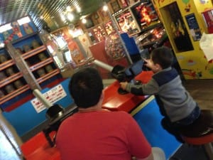 arcade cannon