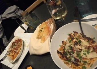 Boatyard pasta